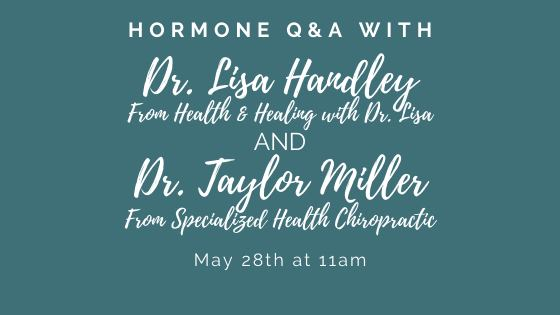 Hormone Questions and Answers with Dr. Lisa Handley, Episode 1